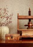 Thibaut Adriatic Behang- Grasscloth Resource Volume 3 collectie