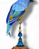 Kit Miles Pendants and Ornamental Birds Behang 8941 4003