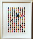 """Nicolaas Govaert Kunstwerk Kubus """"Freedom Is A State Of Mind"""""""