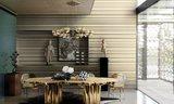 ARTE Infinity Behang Streep Metallic