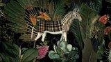 Moooi Menagerie of Extinct Animals MO2071 behang raven arte