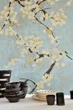 ELITIS Les Cerisiers Sauvages TP-289-01_SOLEIL LEVANT behang papier