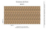 ELITIS Nappees BehangEssence de bois CollectieRM_435_72