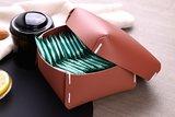Vacavaliente Opbergbox Klein Recycled Leer