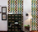 Tiles zig zag behang luxury by nature sfeer