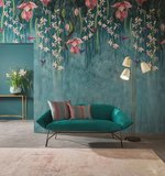 Osborne and Little Trailing Orchid  behang sfeer
