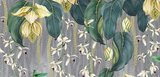 Osborne and Little Trailing Orchid behang w7334-02 close up 2