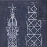 Mind the Gap Grand Eiffel Behang WP20219