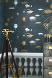 macchine volanti Behang cole son Fornasetti 2 luxury by nature sfeer