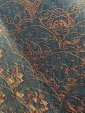 ARTE Moooi Indigo Macaque behang muurbekleding ARTE jeans apen
