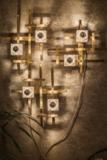 Lumière Wandlamp Goud Geometrisch_