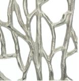 Zilver Ornament 'Koraal'