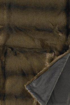 Nerts Bontsprei Bruin Fake Fur (Vison)