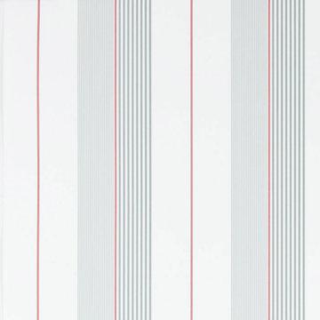 Aiden Stripe 'Granite / Red'