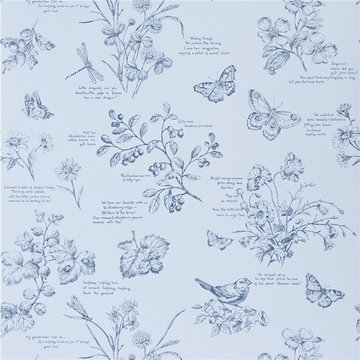 Nature Study Toile 'Bluebell'