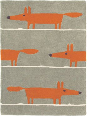 Mr Fox Vloerkleed 'Cinnamon' Scion