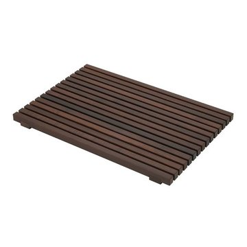Badmat Donker Hout 40 x 60 cm (Thermo Ash)
