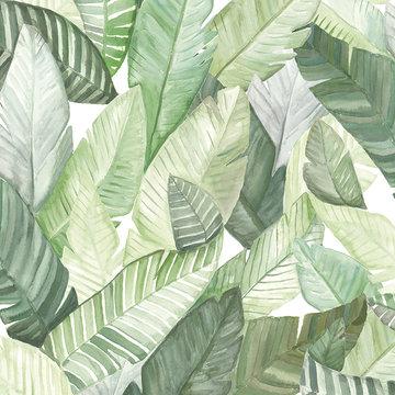Tropisch Behang Banano