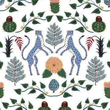 Cheetah Behang Cheetahs