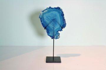 Blauwe Agaat Schijf