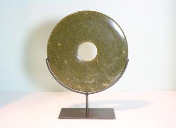 Bi Disk 20 cm jade
