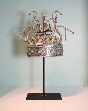 Decoratief Aziatisch Hoofddeksel