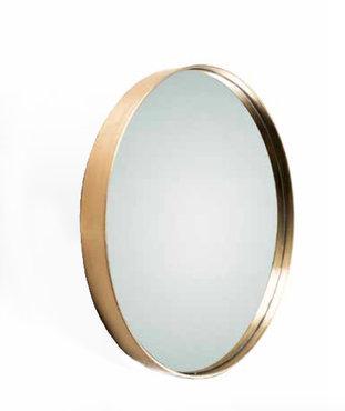 Ronde Messing Spiegel Rapture Ø 50 cm