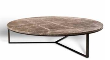 Bijzettafel Marmeren Blad Ø 90 cm