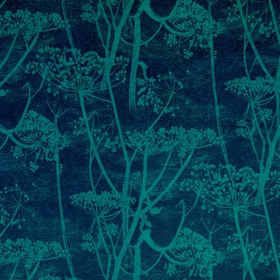 Cow Parsley Stof Cole and Son Velvet Fluweel Velours