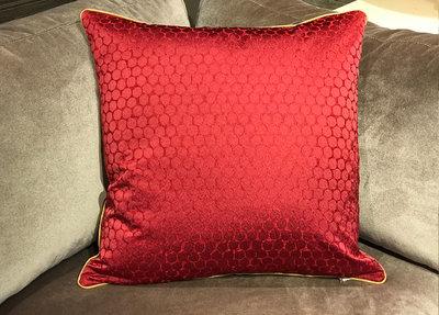 Zoffany Sierkussen Rood 60 x 60 cm
