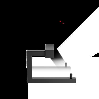 Toiletrolhouder CO TPH 3 Zwart Mat