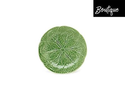 Bordallo Dinerbord Keramiek Koolbladeren Groen