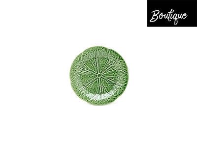 Bordallo Dessertbord Koolbladeren Groen