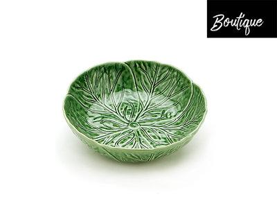 Bordallo Schaal Koolbladeren Groen Large