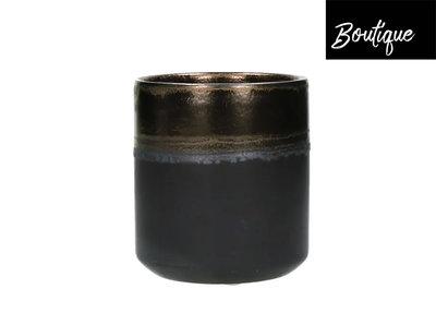 Stylistic Bloempot Bronze