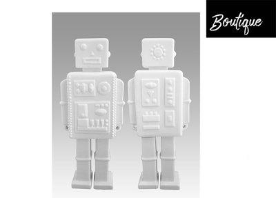 Witte Porseleinen Robot