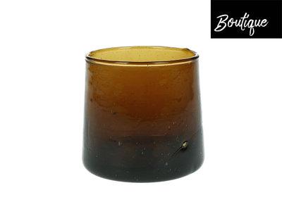 Amber Waterglas