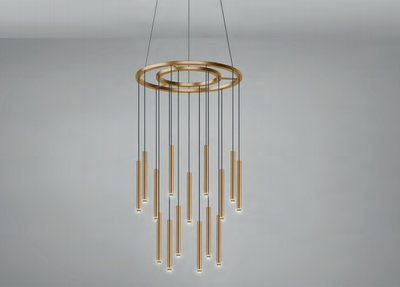 Candle Chandelier Grok