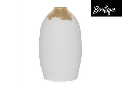 Witte Vaas Bladgoud