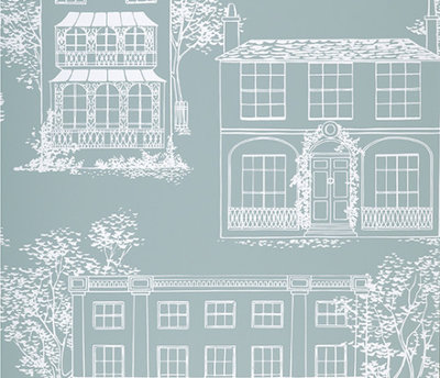 Little Greene Hampstead behang - Penumbra