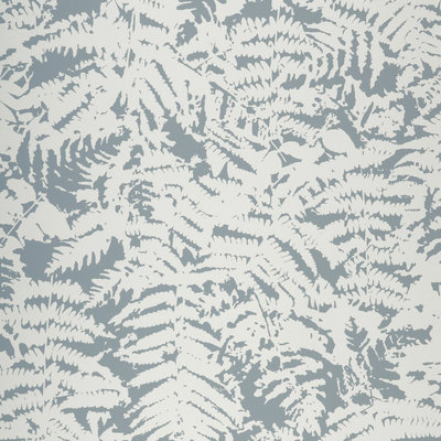 Little Greene Fern Behang - Sage Blue