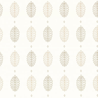 Little Greene Cones behang - Lint