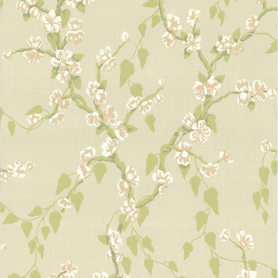 Little Greene Sakura Behang - Pomme