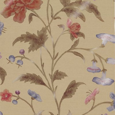 Little Greene China Rose Behang - Bronze