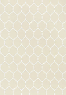 Anna French Leland Trellis Behang - Small Scale