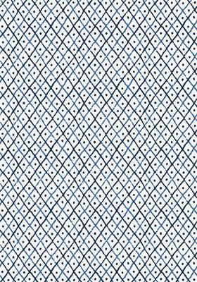 Anna French Mini Trellis Behang - Palampore