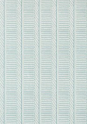 Anna French Montecito Stripe Behang - Palampore
