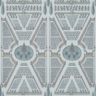 Anna French Aerial Garden Behang - Savoy