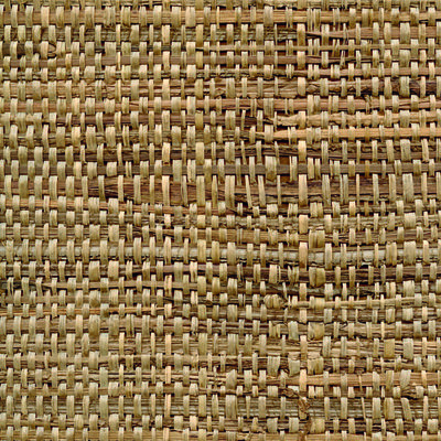 CMO Paris Raphia Feuilles de Bananier Behang - Raffia Banana Leaves Wallcovering