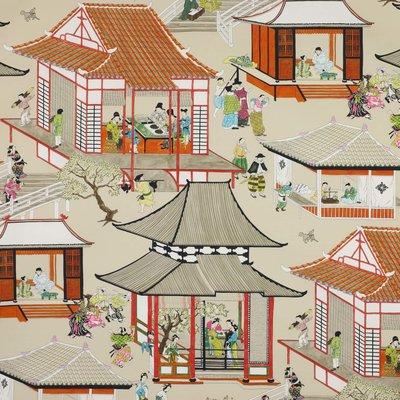 Manuel Canovas Madame Butterfly Behang - Papier Peints Vol. 5